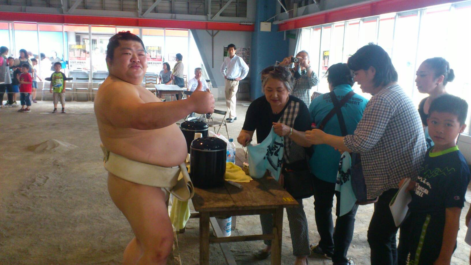 ふるさと合宿in扇田